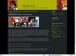 Check out www.austin30.org